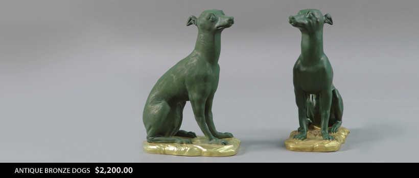 Antique Bronze Figures