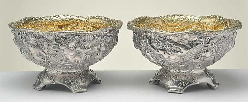 Antique Silver Bowls