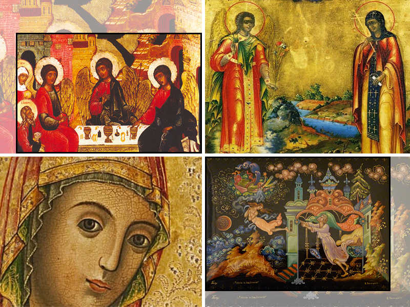 history of russian icons