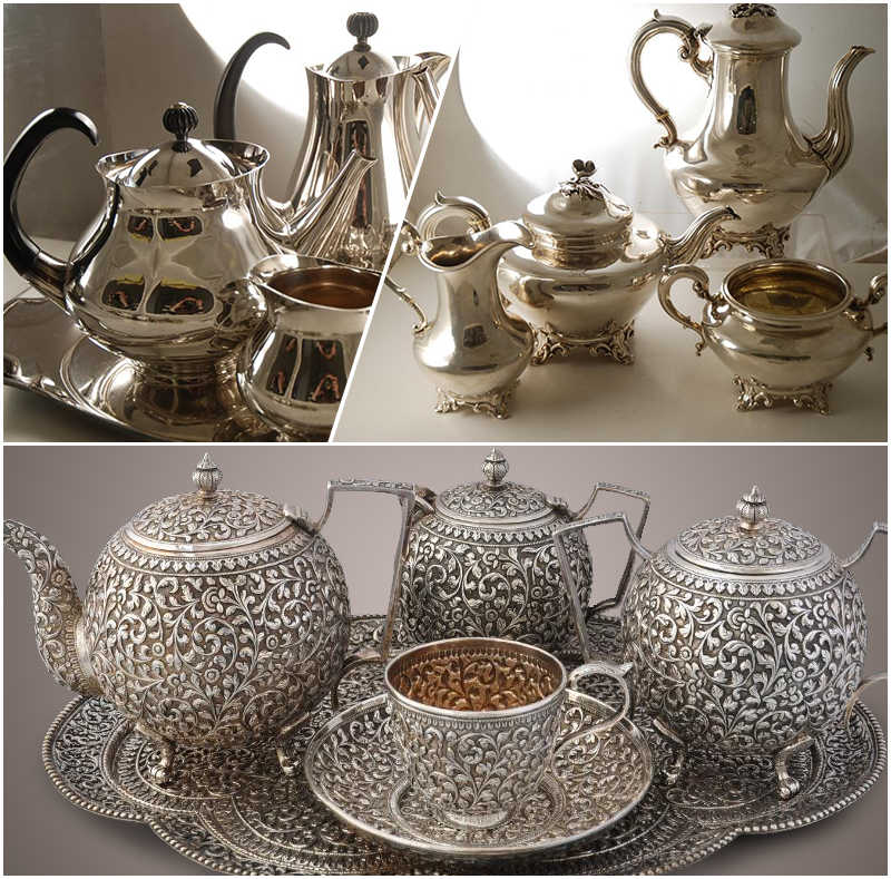 Tips on How to Sell Your Antique Silver Tea Set