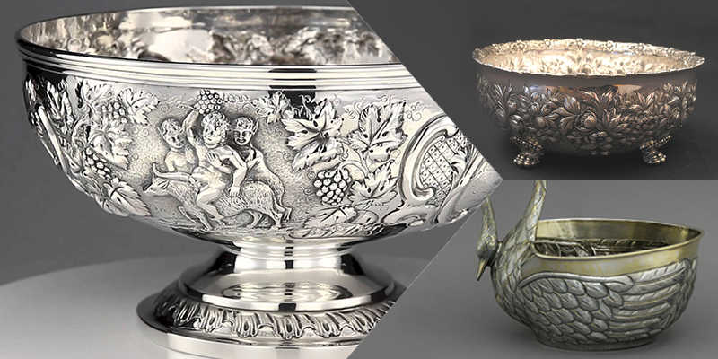 Sterling Punch Bowl