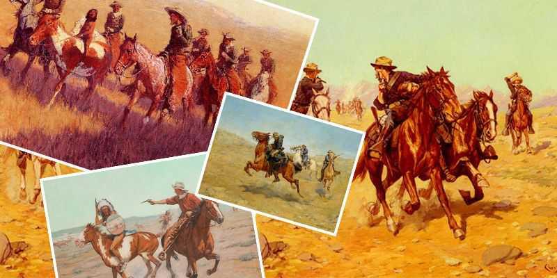 Old West Artist Charles Schreyvogel