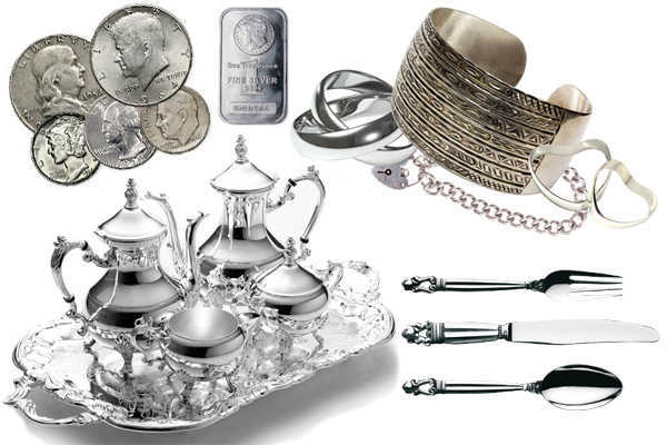 We buy Antique Silver
