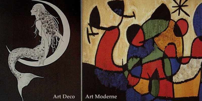 Art Deco Vs Art Moderne